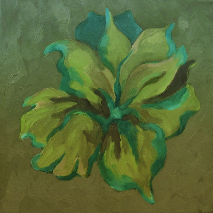 """Painting titled """"Alstoemeria III"""" by Mary Downe, Original Art, Oil"""