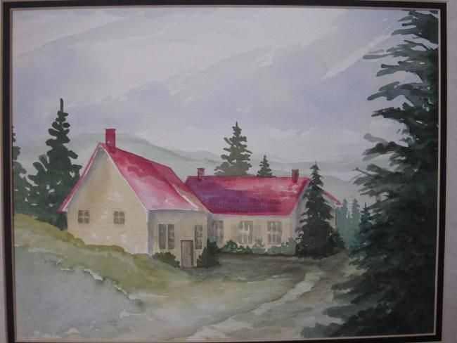 """Painting titled """"Country Classic"""" by Mary Ellen Metler, Original Art,"""