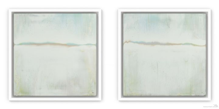 """Painting titled """"Wise Dunes 