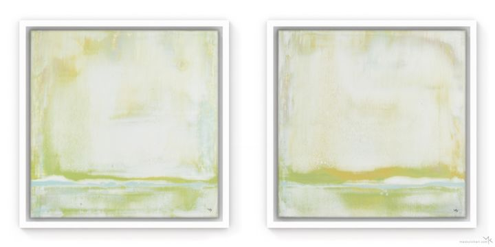 """Painting titled """"Lime Shifts 