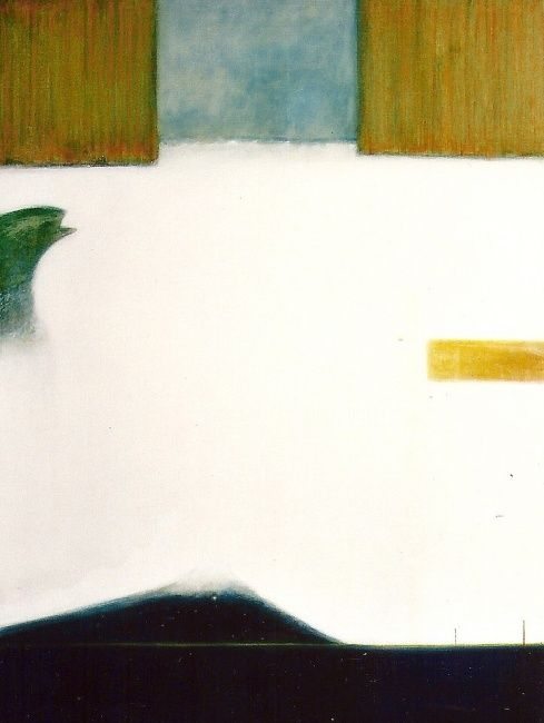Sans titre - Painting,  51.2x38.2 in, ©2003 by Maxime Mucret -