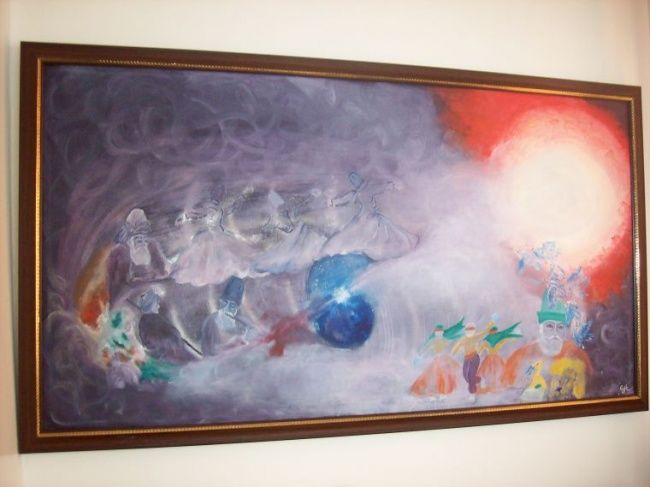 Painting,  120 x 65 cm ©2009 by Oya karakız -  Painting