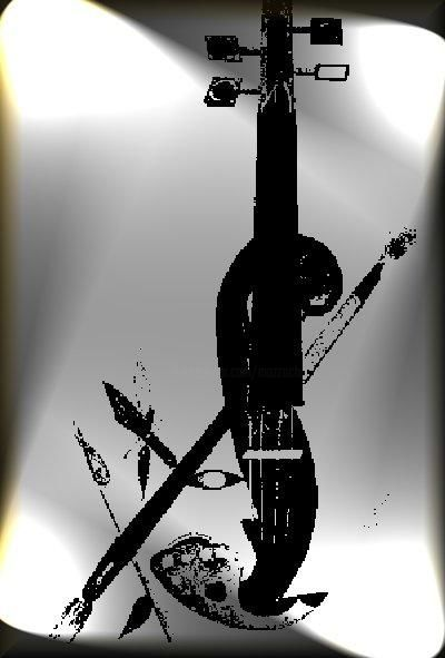 mon logo - Drawing, ©2006 by Anne Marie Mazzocchi -