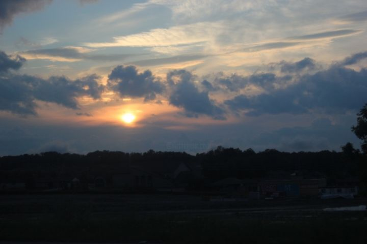 """Photography titled """"Sunset"""" by Meaghan Metcalf, Original Art,"""