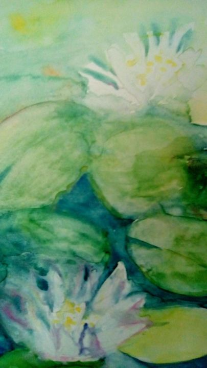 """Painting titled """"Lopoči"""" by Magdalena Zovkic, Original Art, Watercolor"""