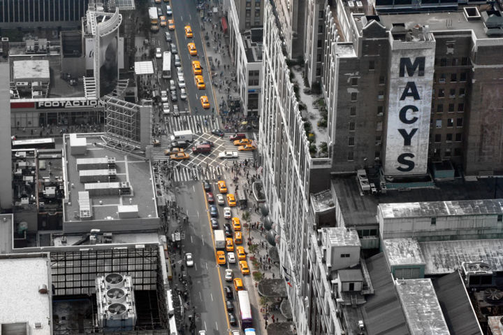 """Photography titled """"Yellow cabs"""" by Mirsad Mehulic, Original Art,"""