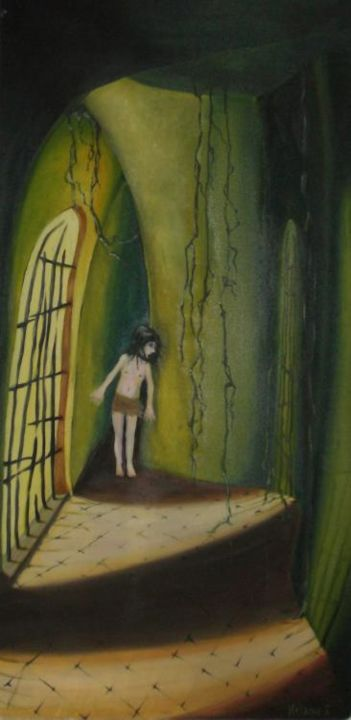 """Painting titled """"Surprise waiting to…"""" by Mela, Original Art,"""