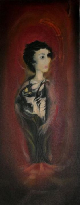 """Painting titled """"irrational"""" by Mela, Original Art,"""