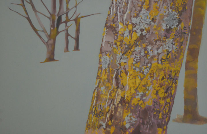 """Painting titled """"Nature III"""" by Teresa Melo, Original Art, Oil"""