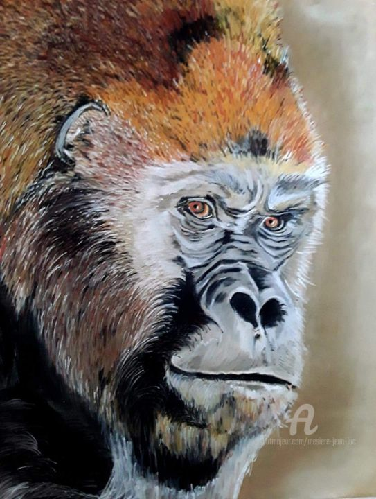 Kong - Drawing,  30x24 cm ©2019 by Jlucmez -