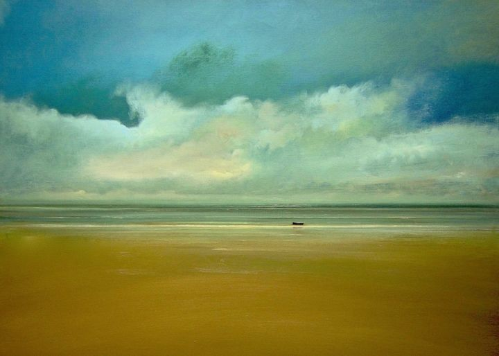 """Painting titled """"Morning Tide"""" by Michael Marrinan, Original Art,"""