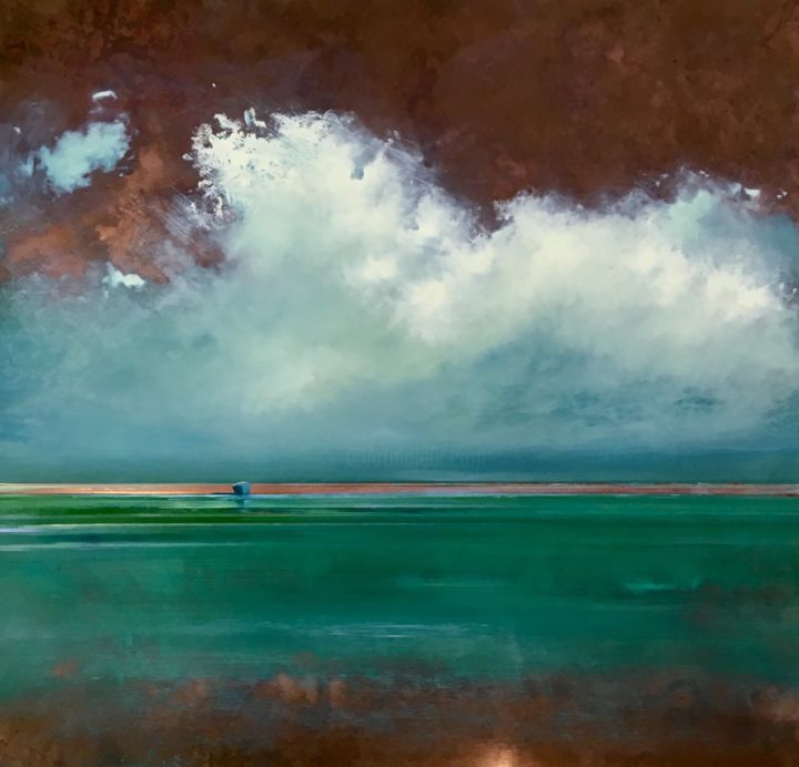 """Painting titled """"Morning Copper"""" by Michael Marrinan, Original Art,"""