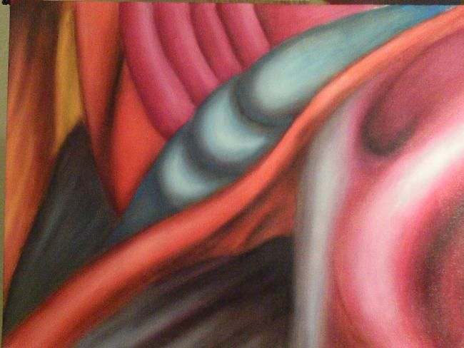 """Painting titled """"Aterial Composition"""" by Michael Farmer, Original Art, Oil"""