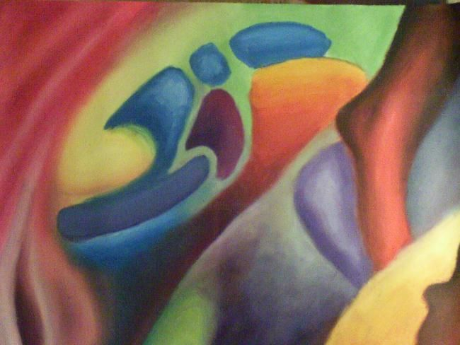 """Painting titled """"Experiment With Col…"""" by Michael Farmer, Original Art, Oil"""