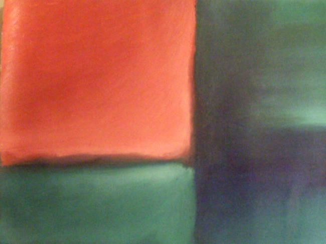 """Painting titled """"Quadrant in Red and…"""" by Michael Farmer, Original Art, Oil"""