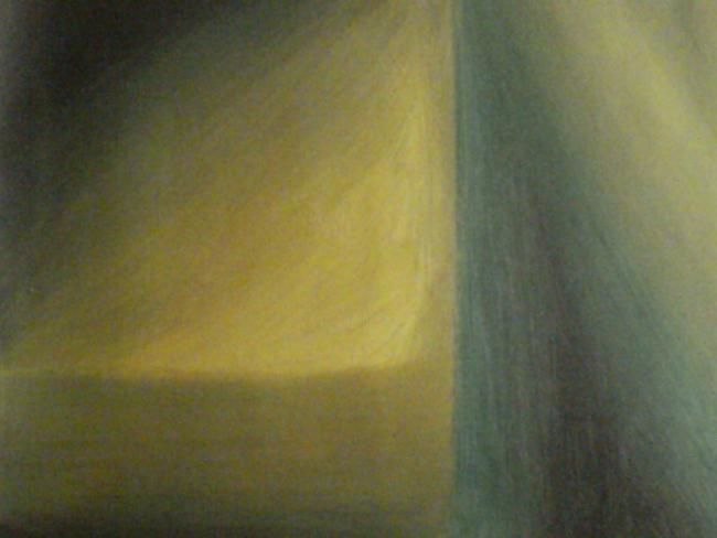 """Painting titled """"Quadrant in Yellow"""" by Michael Farmer, Original Art, Oil"""