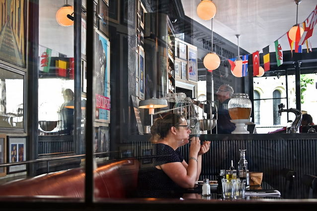 """Photography titled """"Au temps des bars 6"""" by Michel Volle, Original Art, Digital Photography Mounted on Cardboard"""