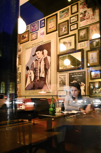"""Photography titled """"Au temps des bars 7"""" by Michel Volle, Original Art, Digital Photography Mounted on Cardboard"""