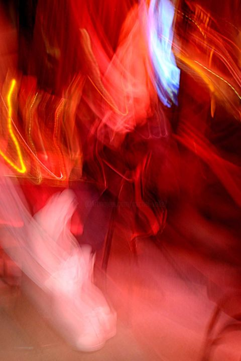 """""""IMAGE DE LUMIERES 17"""" - Photography,  23.6x16.5 in, ©2018 by Michel VOLLE -                                                                                                                                                                          Abstract, abstract-570, Light"""