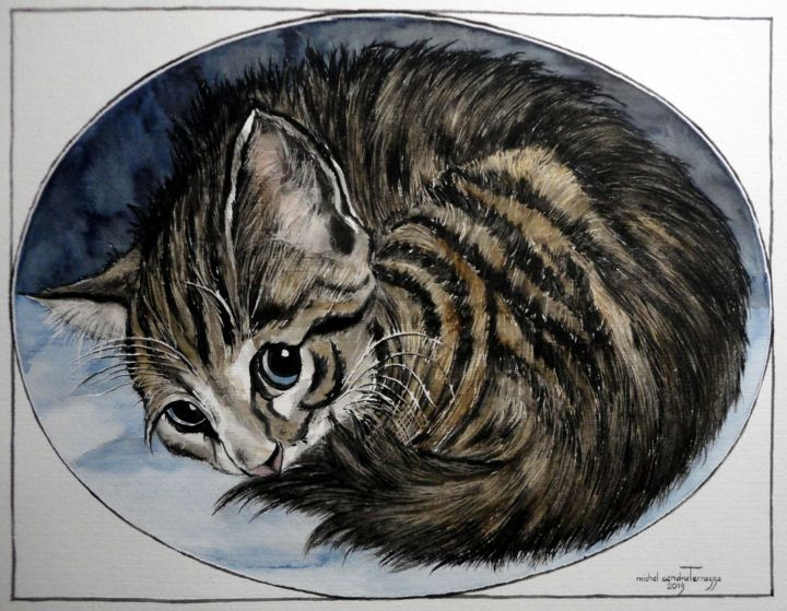 EN  BOULE - © 2019 chaton Online Artworks