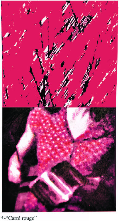 """Digital Arts titled """"4-carre-rouge-copy.…"""" by Micheline Couture, Original Art, Digital Painting"""