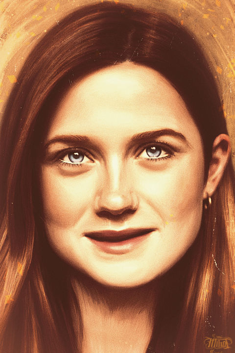 Bonnie Wright Digital Arts by MIHAP | Artmajeur