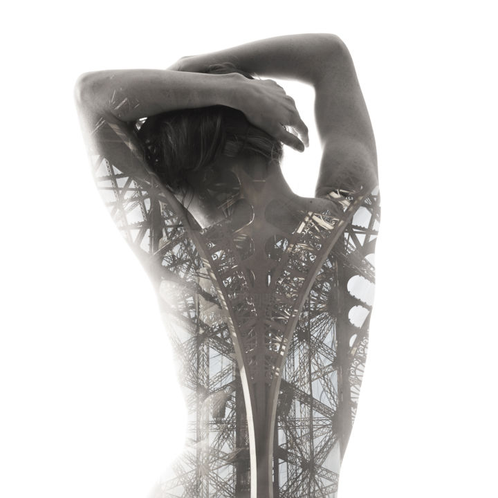 """Photography titled """"Tour Eiffel"""" by Michaël Biche, Original Art, Manipulated Photography"""
