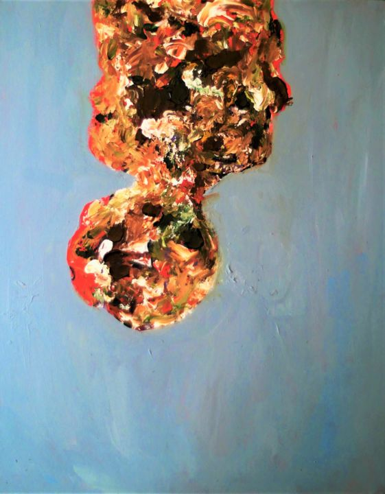"""Painting titled """"Under the Same Sky 2"""" by Mikael Teo, Original Art, Acrylic"""