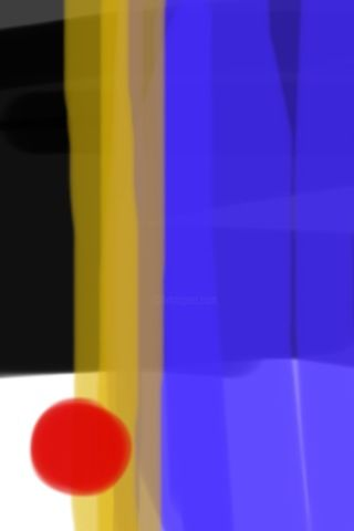 Untitled 3 - Digital Arts,  5x7 in ©2009 by MILES BEGAY -