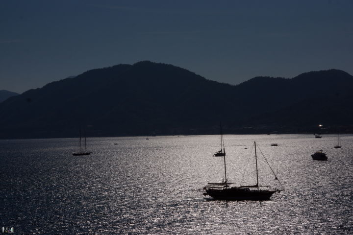 Voilier 03 - Photography, ©2015 by Miodrag Aubertin -                                                                                                                                                          Sailboat, Voiliers, Marmaris
