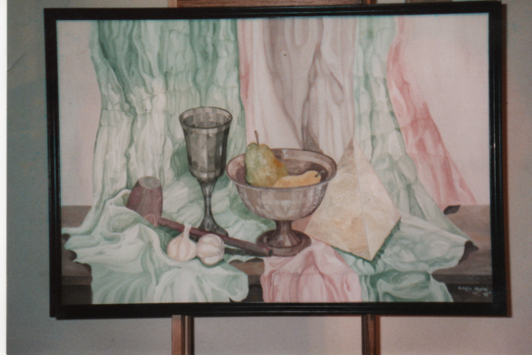 Picture_074.png - Painting,  24x36 in ©2009 by marian burghiu -