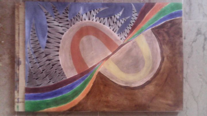 """Painting titled """"image.jpg"""" by The K.H Artist, Original Art, Acrylic"""
