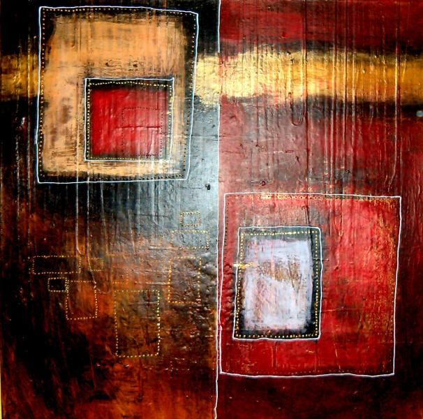 """Painting titled """"Long Division"""" by Mistachesta, Original Art,"""