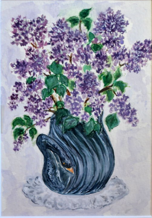 Bouquet de lilas - ©  Lilas, bouquet Online Artworks