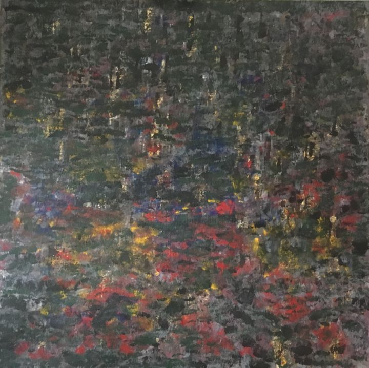 """Painting titled """"LES TUFFES"""" by Iiiohand, Original Art, Acrylic"""