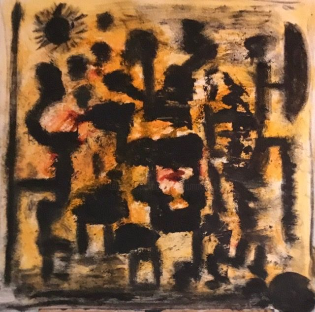 """Painting titled """"Don Quichotte  dési…"""" by Iiiohand, Original Art, Acrylic"""