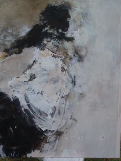13-03-06/05 - Painting,  148x115 cm ©2004 by Catherine Monmarson -