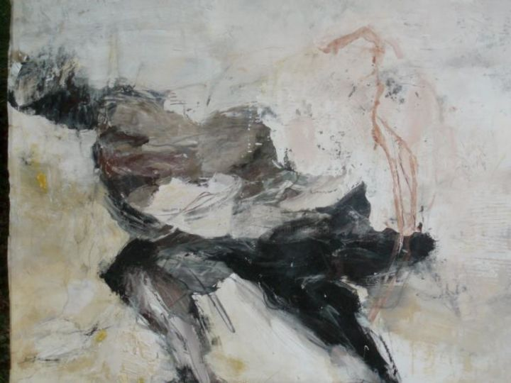 13-03-06/04 - Painting,  148x115 cm ©2004 by Catherine Monmarson -