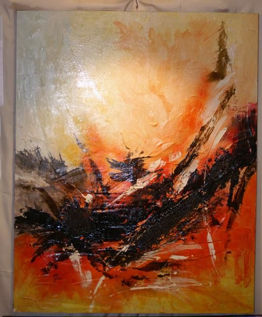 Extase 2 - Painting, ©2009 by Morena -