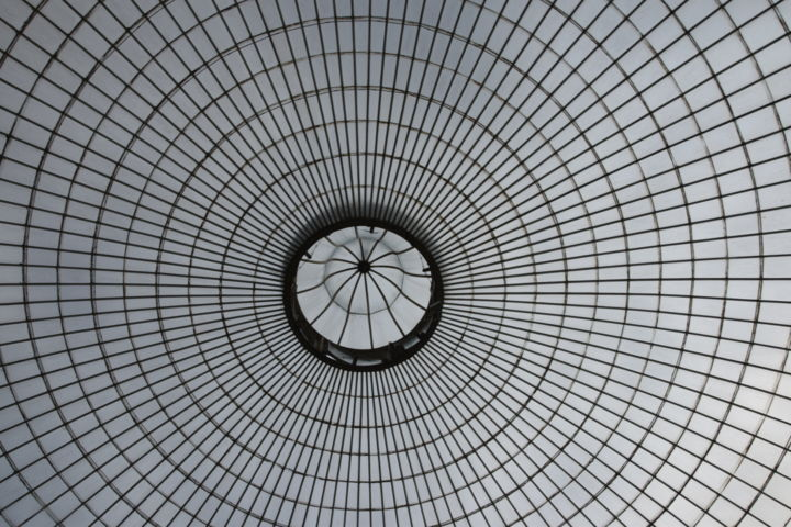 """Photography titled """"Sky through the roof"""" by Naomie Norenrgh, Original Art,"""
