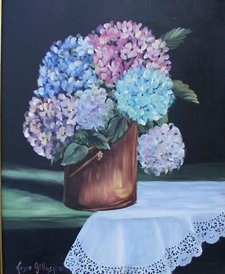 """Painting titled """"Lovely N Lace"""" by Joyce Gillaspie, Original Art,"""