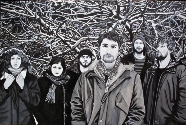 Hey Rosetta! - Painting ©2010 by Michel Robitaille -