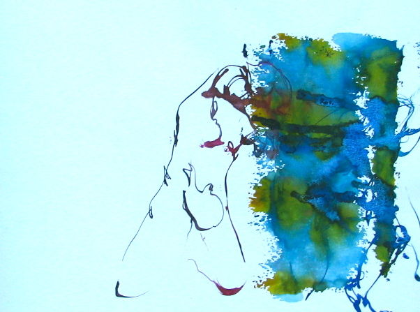 img-5683.jpg - Painting ©2013 by stalaven -            calligraphie, nu, mouvement