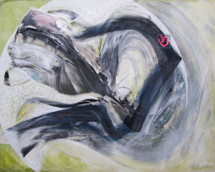 Into the Dragon's Mouth, Original painting - © 2018 dragon, mouth Online Artworks