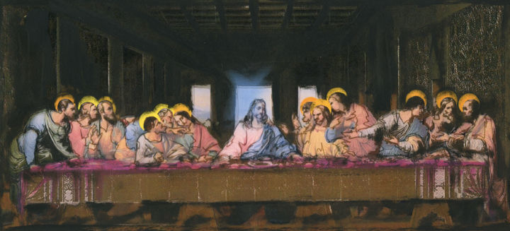 a critique of the painting the last supper essay Art critique - the last supper 21 pages 594 words 1557 views one of the most famous paintings of all time is the painting of the last supper by leonardo da vinci.