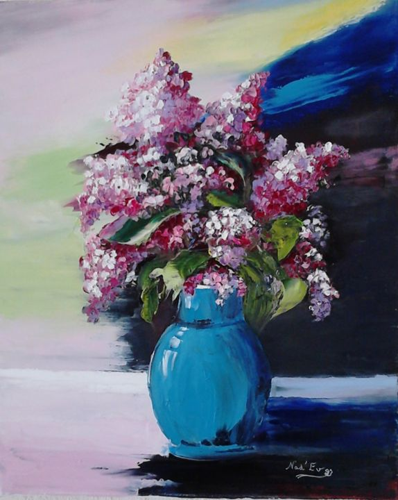 LE BOUQUET DE LILAS - ©   Online Artworks