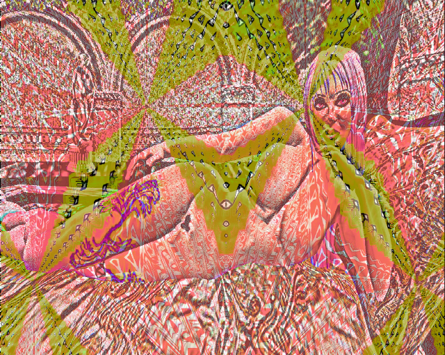pinky created with sl Painting by Nancy Forever | Artmajeur