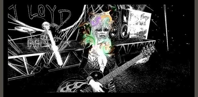 NANCY FOREVER - Painting ©2012 by Nancy Forever -            CREATED WITH SECOND LIFE