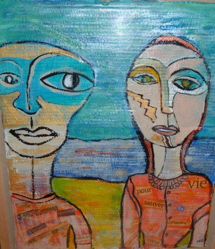 Painting ©2009 by NATHALIE CHABOT -  Painting