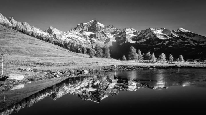 Grand Combin Photography By Noel Crosetti Artmajeur